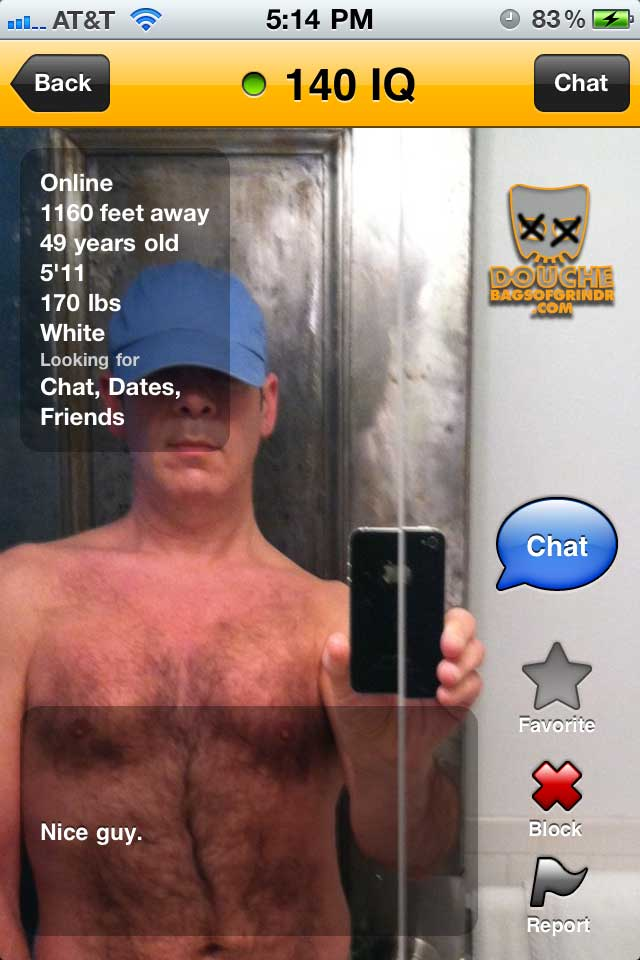 high iq grindr douche