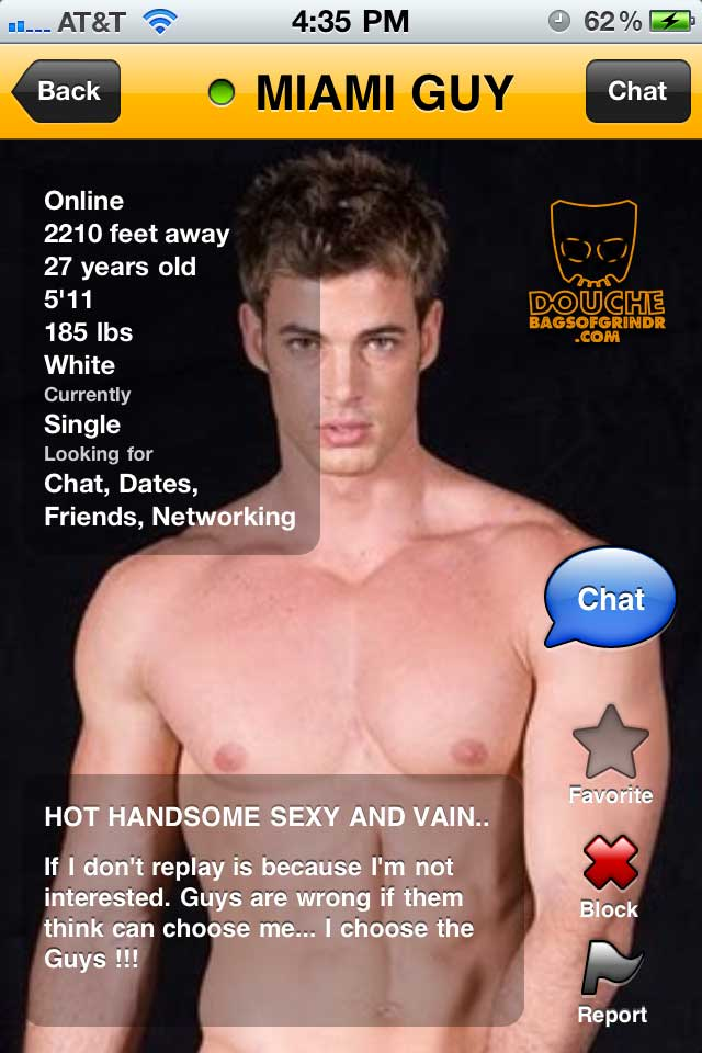 miami mega douche of grindr