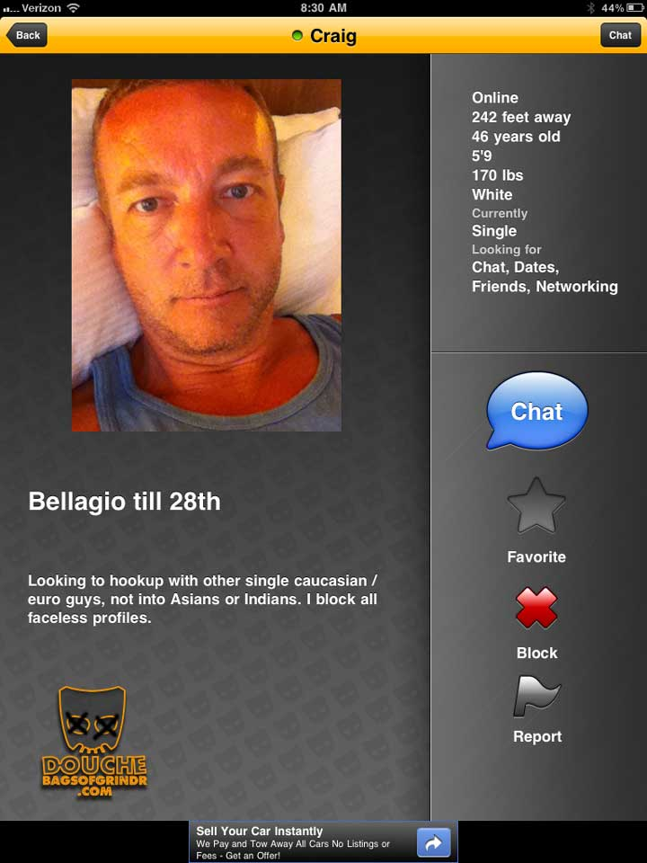 yawn-another-racist-grindr-douche bag