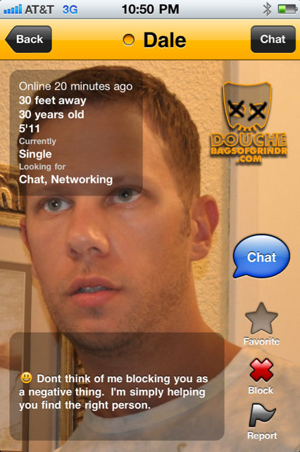 douche of grindr  yeah man