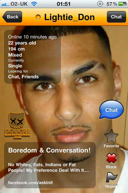no facts twice grindr douche