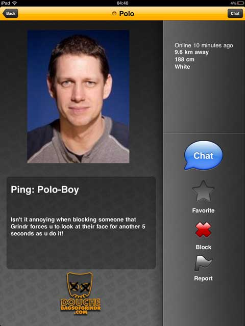 grindr douche ping polo boy