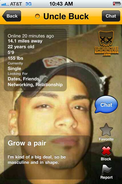 big deal grindr douche