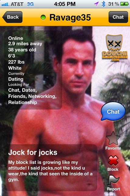 ravaged grindr douche