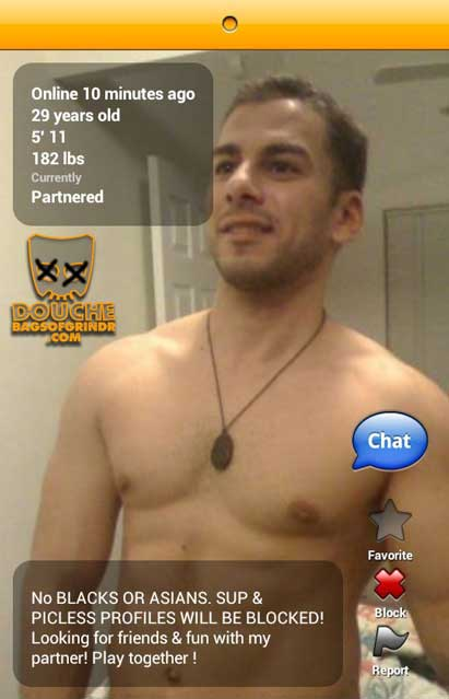 jim crow grindr douche