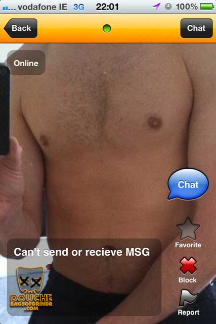 pointless grindr douche