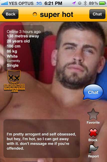 hot cross grindr douche