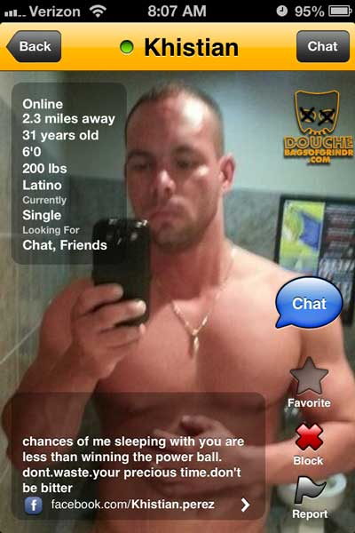 power-douche of grindr